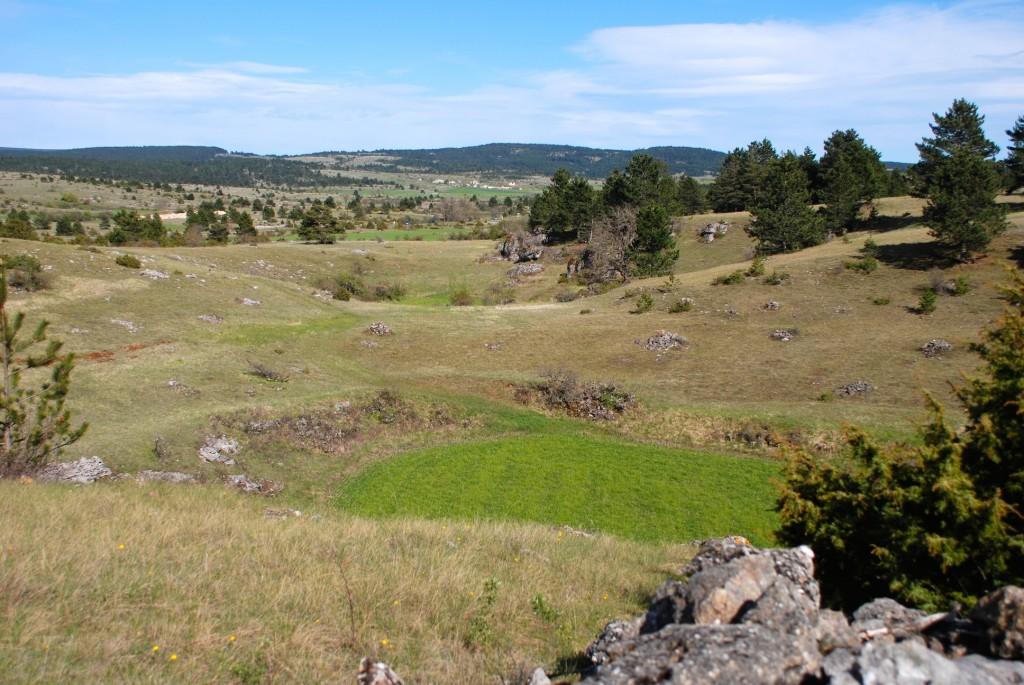 Dolines Causse Sauveterre