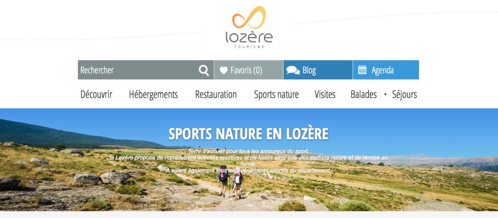Sports nature lozere
